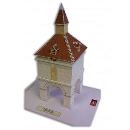 Vue principale Maquette du Pigeonnier carré de Caylus (82)