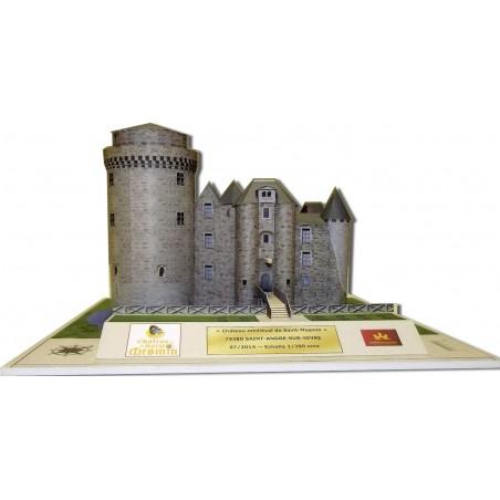Maquette du Château de Saint-Mesmin (79380)