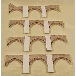 Maquette du Pont Médiéval de Valentré à Cahors (46)