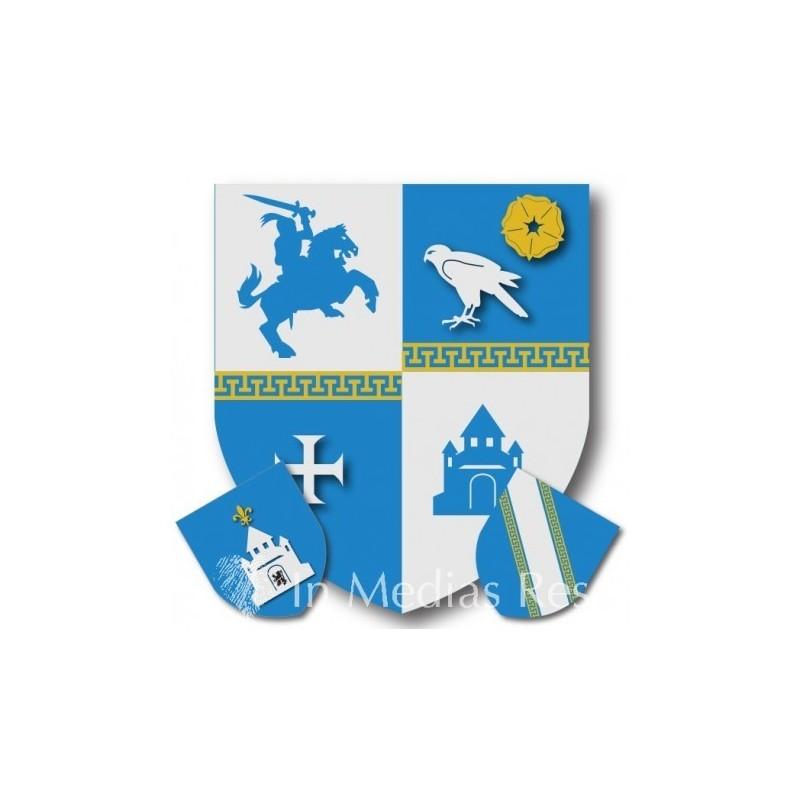 Kit Héraldique Ville de Provins