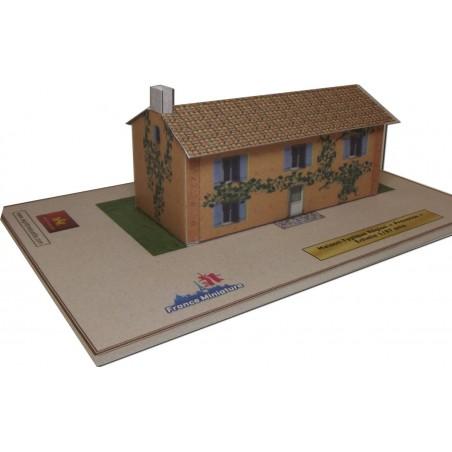 Maquette de Maison Région Provence
