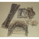 Maquette Tour Eiffel en bois pièces détachées