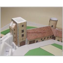 Maquette Château de Blandy les Tours (77)