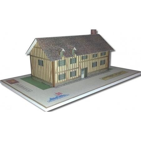 Maquette d'une Maison Typique Normandie
