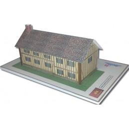 Maquette de Maison Typique Normandie