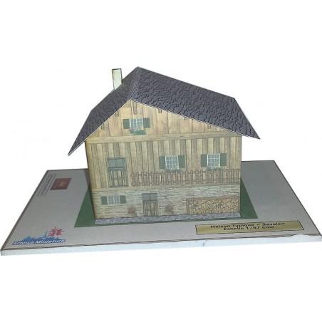 Maquette de Maison Typique Savoie