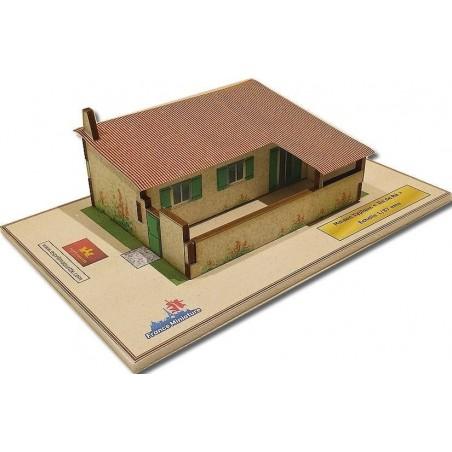 Maquette d'une Maison Typique Ile de Ré