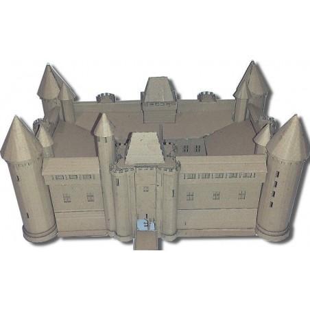 Maquette du Château de Marcoussis (91) - (carton)