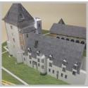 Montage toits Maquette du château de la Chapelle d'Angillon (18)