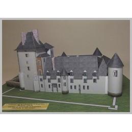 Maquette du château de la Chapelle d'Angillon (18)