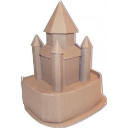 Maquette de la Tour César de Provins (77)