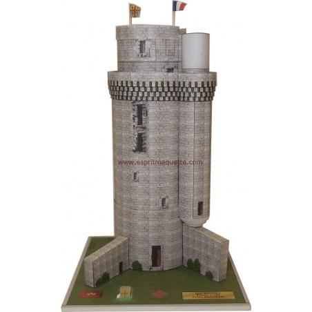 Maquette de la Tour Montlhery (91)