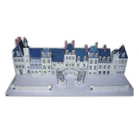 Maquette Façade Château de Fontainebleau (77)