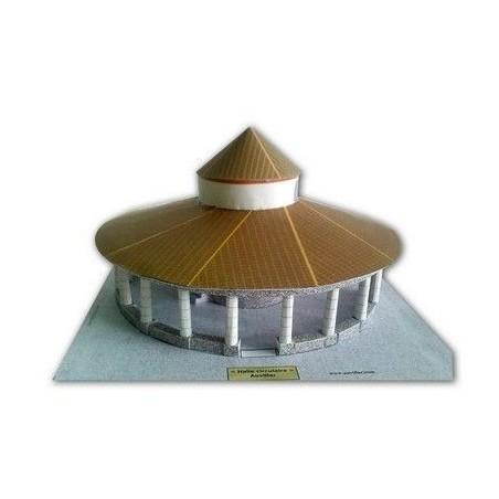 Vue finale Halle circulaire (Auvillar 82)