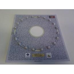 Montage détail support Halle circulaire (Auvillar 82)