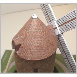 Montage ailes Maquette du Moulin de Montfermeil (93)