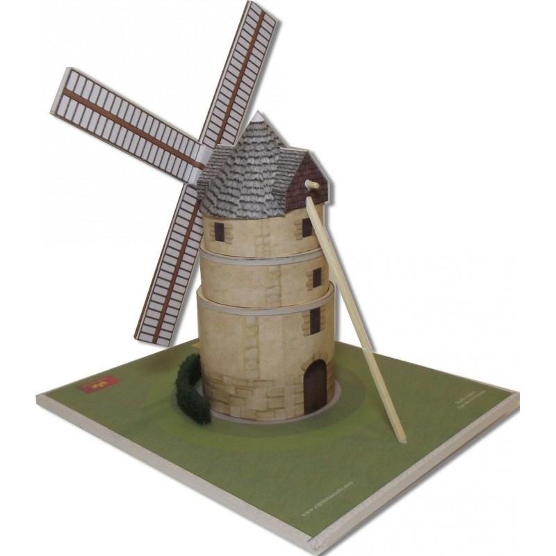 Maquette du Moulin d'Ivry sur Seine (94)