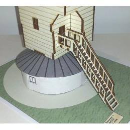 Moulin de Sannois (95) - Version Bois