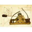 Catapulte Type Léonard de Vinci