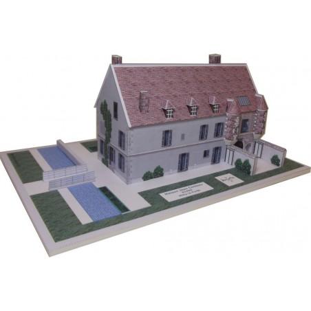 Vue finale maquette Maison Jean Cocteau à Milly la Forêt (91)