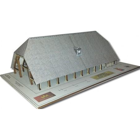Maquette d'une Halle couverte (Arpajon 91)