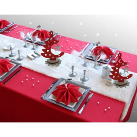 Sapin de Noel décoratif x 2