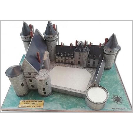 Maquette du Château de Sully sur Loire (45)