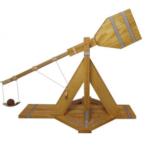 Maquette de Mangonneau Médiéval en Bois