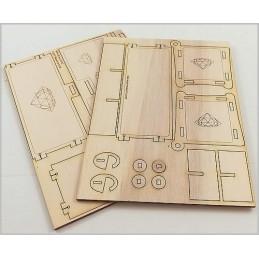 Plaques pour boite à bijoux Princesse
