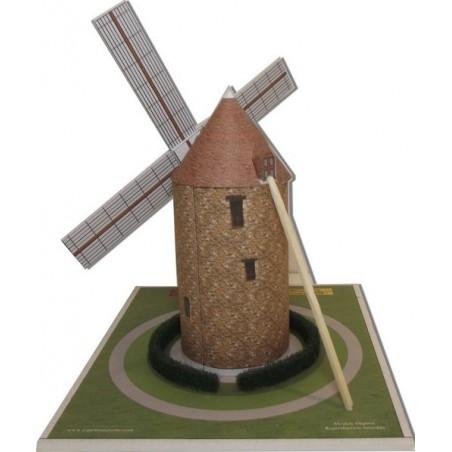 Découpe éléments Maquette du Moulin de Montfermeil (93)