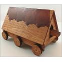 Maquette de Bélier à roues