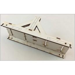 Kit Pédagogique de 5 Catapultes à Roues Junior