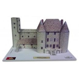 Maquette du Château de Nemours (77)