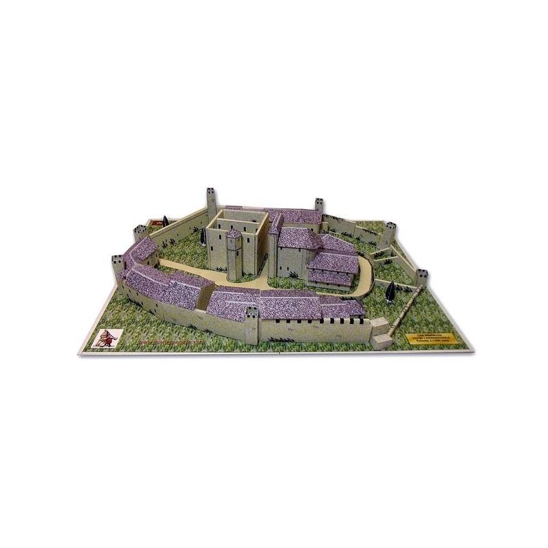 Maquette de la Cité médiévale de Larressingle (32)