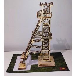 Maquette d'un Chevalement de Mine