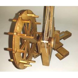 Grue à Pivot à roue de carrier