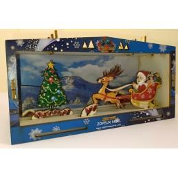 Maquette Vitrine de Noel