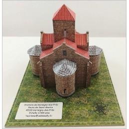 Maquette d'un Oratoire Carolingien