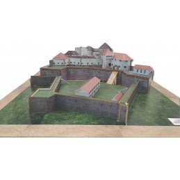 Maquette du château de Joux...