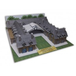 Vue principale maquette Maison de Bornage à Ponthierry (77)