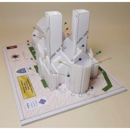 Montage Structure Collégiale Notre Dame de Melun (77)