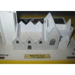 Montage structure 1 Egreville (77) - Eglise Saint-Martin - Montage