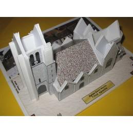 Montage toits Egreville (77) - Eglise Saint-Martin - Montage toits