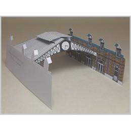 Assemblage verrière maquette Ponthierry (77) - Maison de Bornage - Montage