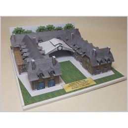Vue finale maquette Ponthierry (77) - Maison de Bornage