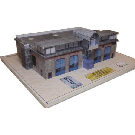"""Vue générale maquette Ponthierry (77) - Centre culturel """"Les 26 Couleurs"""""""
