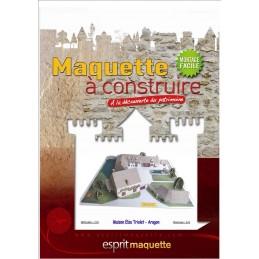 Boitier maquette St Arnoult en Yvelines (78) - Maison Elsa Triolet / Aragon