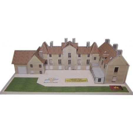 Vue principale maquette Bures sur Yvette (91) - La Grande Maison