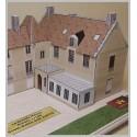 Montage murs maquette Bures sur Yvette (91) - La Grande Maison