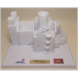 Montage structure murs Maquette de l'Abbatiale Sainte Foy à Conques (12)
